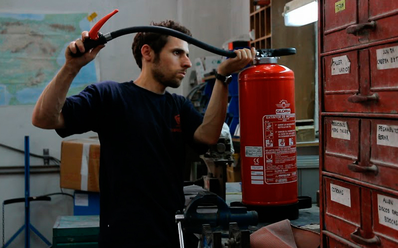 Mantenimiento de sistemas de protección contra incendios